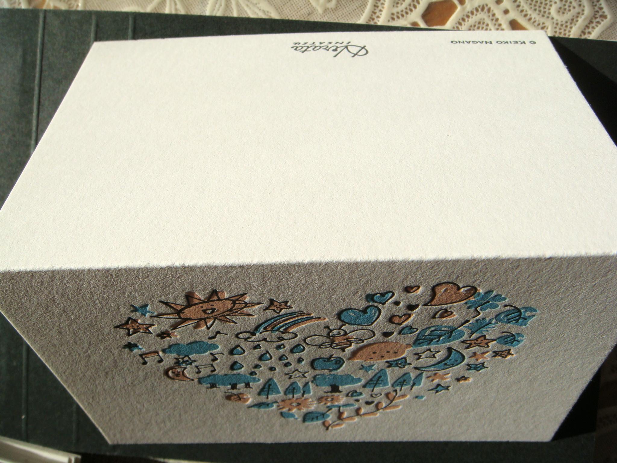 カード メッセージカード印刷用紙 : メッセージカード   HIRATAINSATSU ...